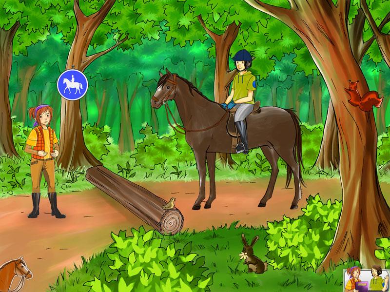 Pferdereihe3 - gross