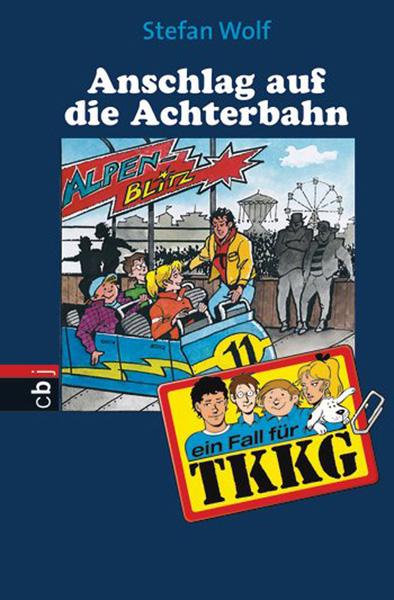 TKKG Achterbahn - gross