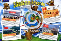 Löwenzahn Magazin: Staudamm