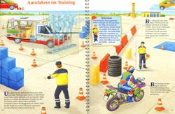 Autofahrer im Training