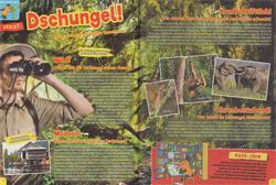 Maus 04/17, Dschungel